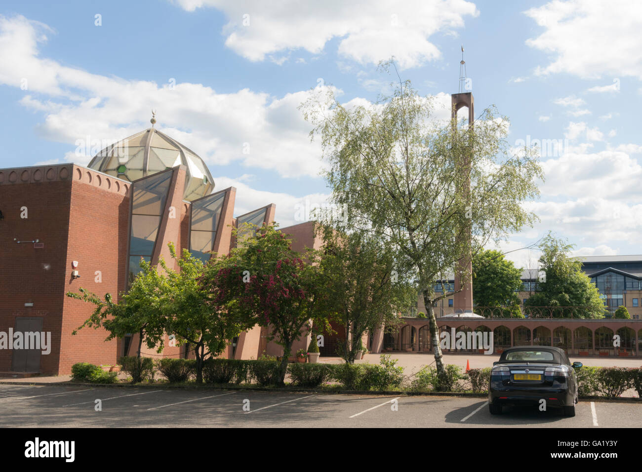 Glasgow Central Mosque,Gorbals,Glasgow,Scotland,UK, - Stock Image