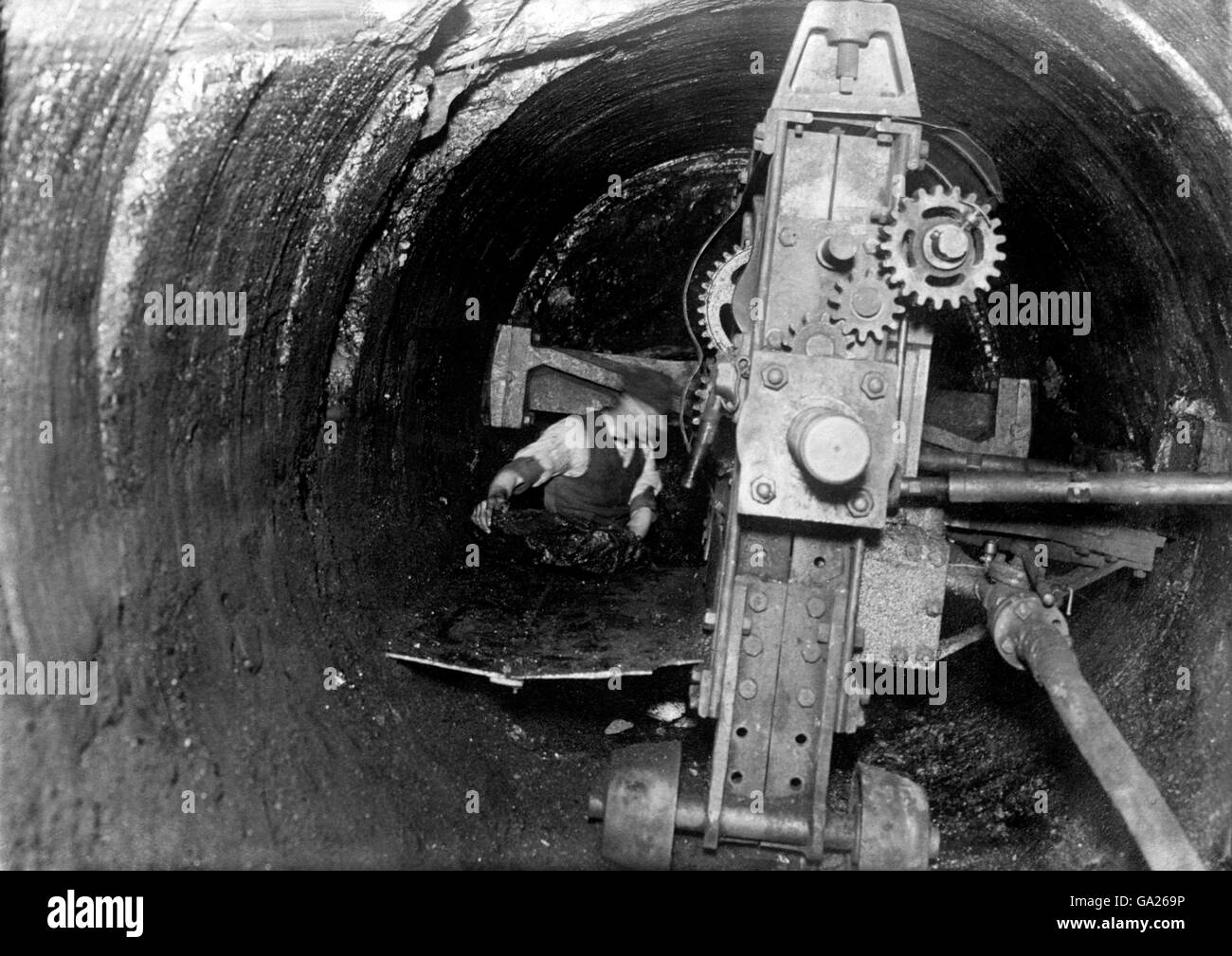 British Industry - Mining - Stock Image
