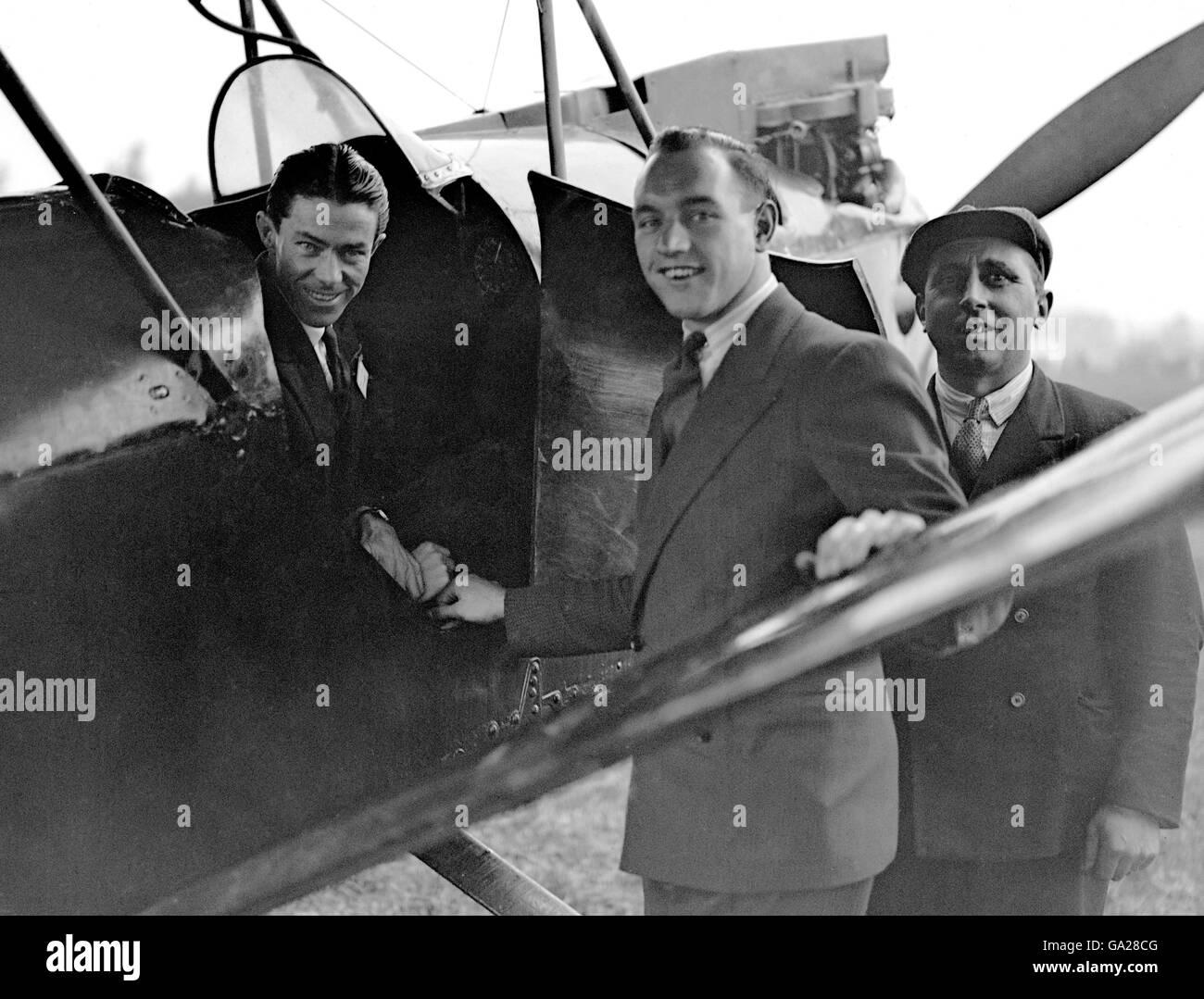 Aviation - LGOC Aero Club - London - Stock Image