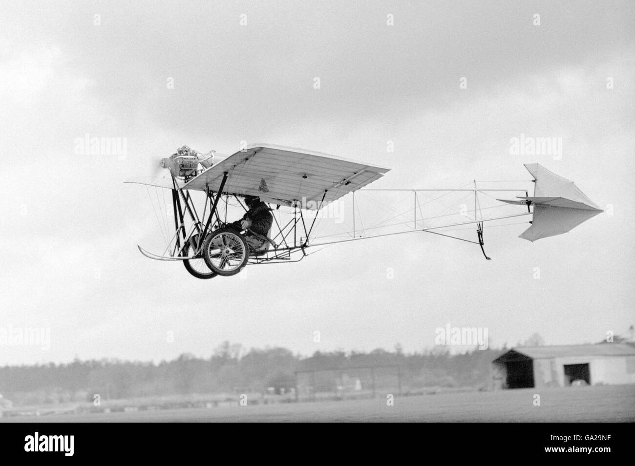 Aviation - Demoiselle Monoplane - Airways Flying Club Stock Photo