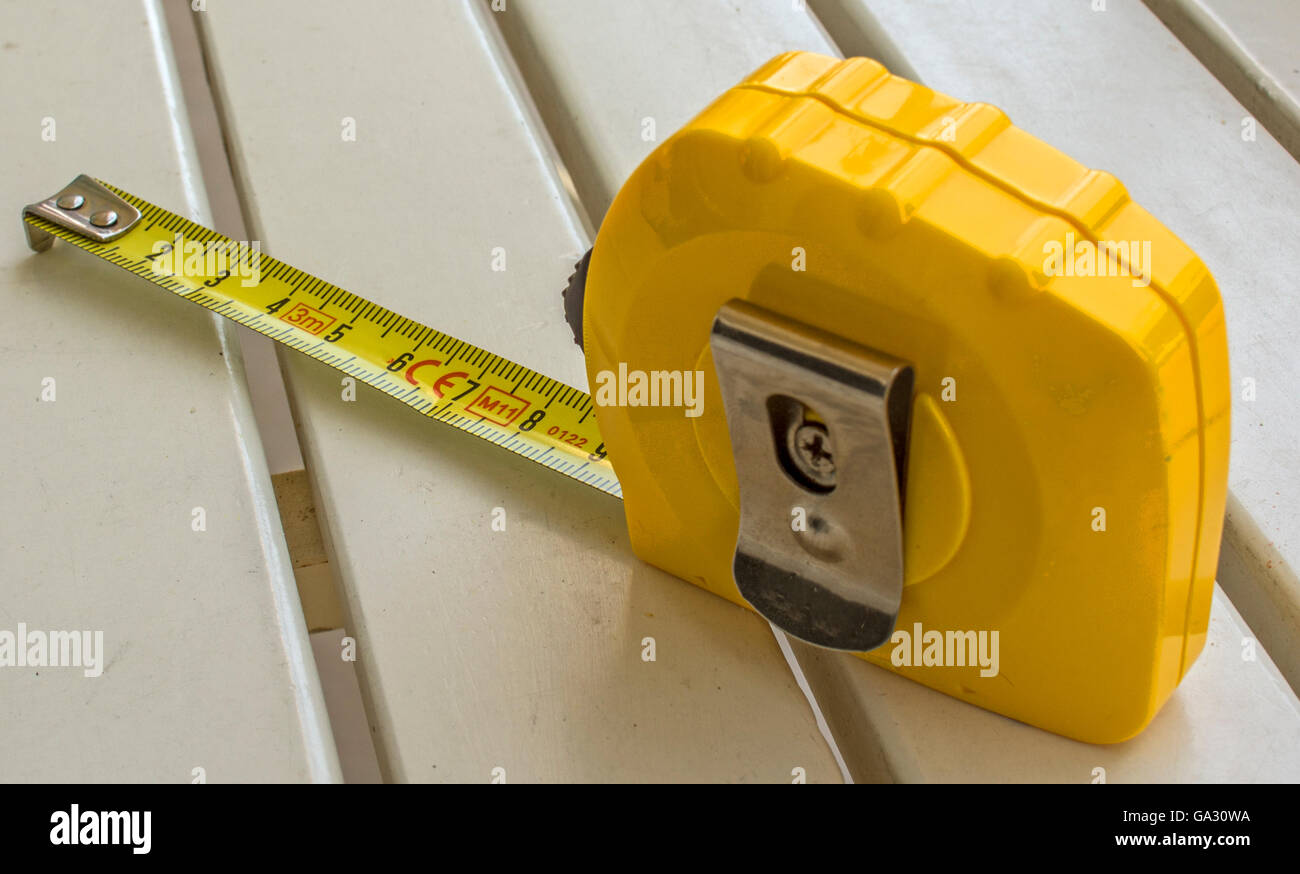 to measure length meter - Stock Image