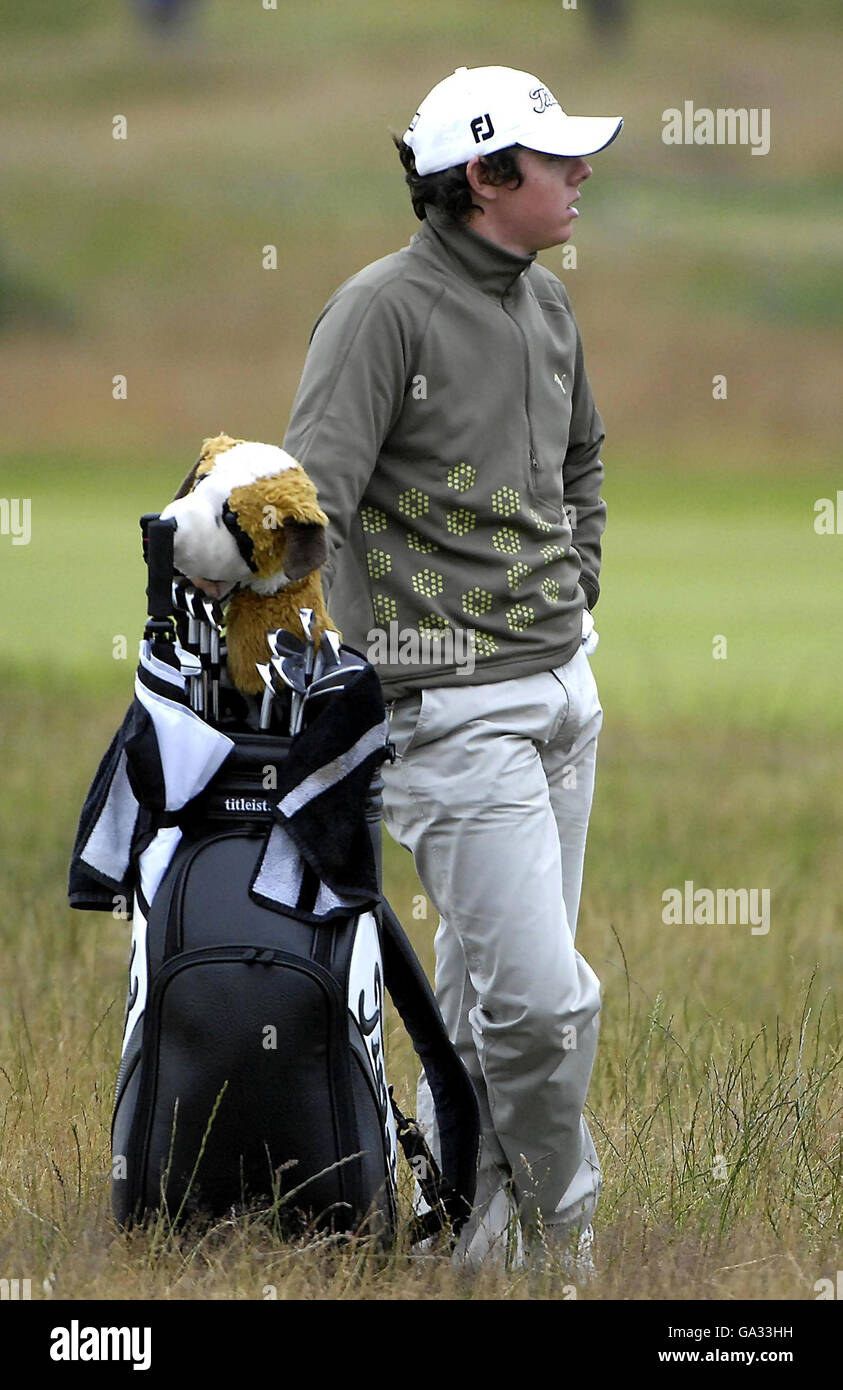 Golf - The 136th Open Championship 2007 - Day Two - Carnoustie - Stock Image