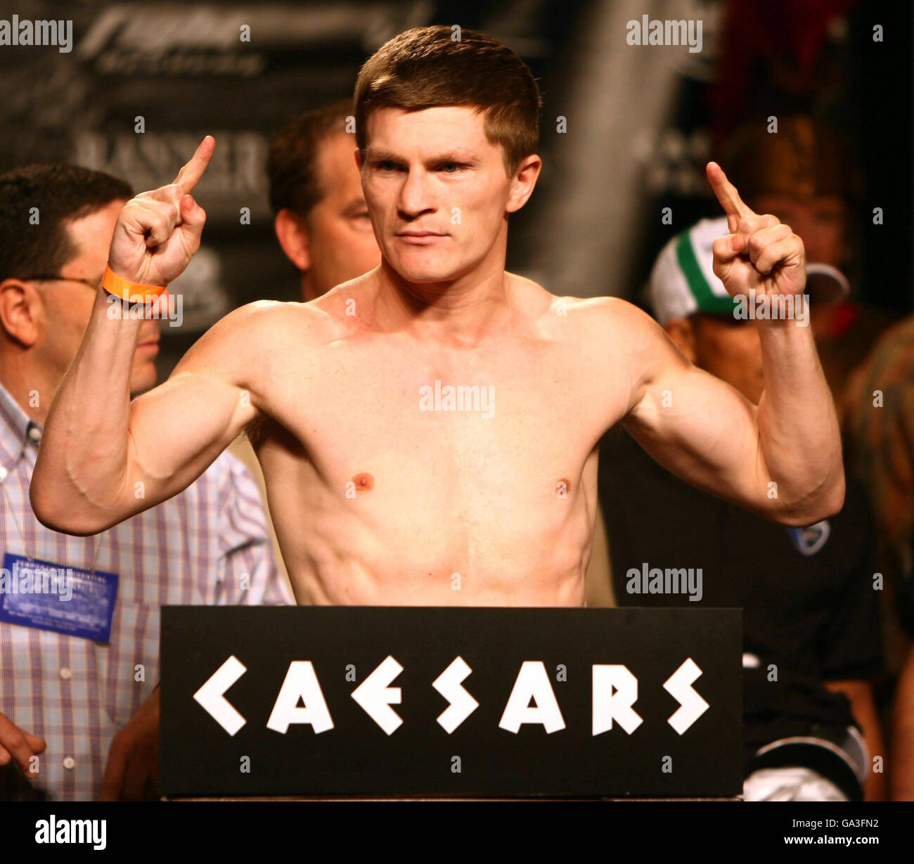 Caesars Palace Boxing Stock Photos & Caesars Palace Boxing