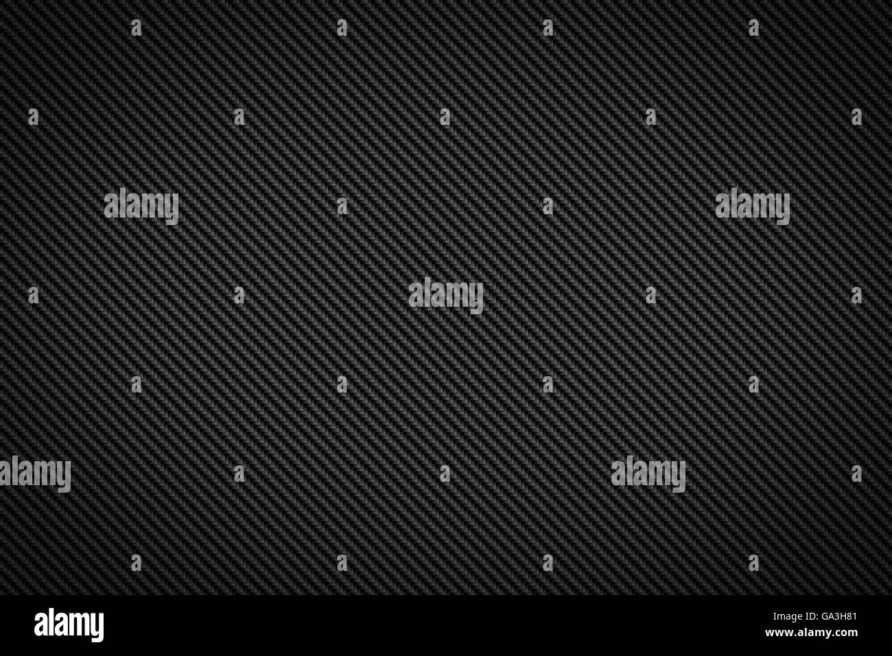 carbon fiber texture background - Stock Image