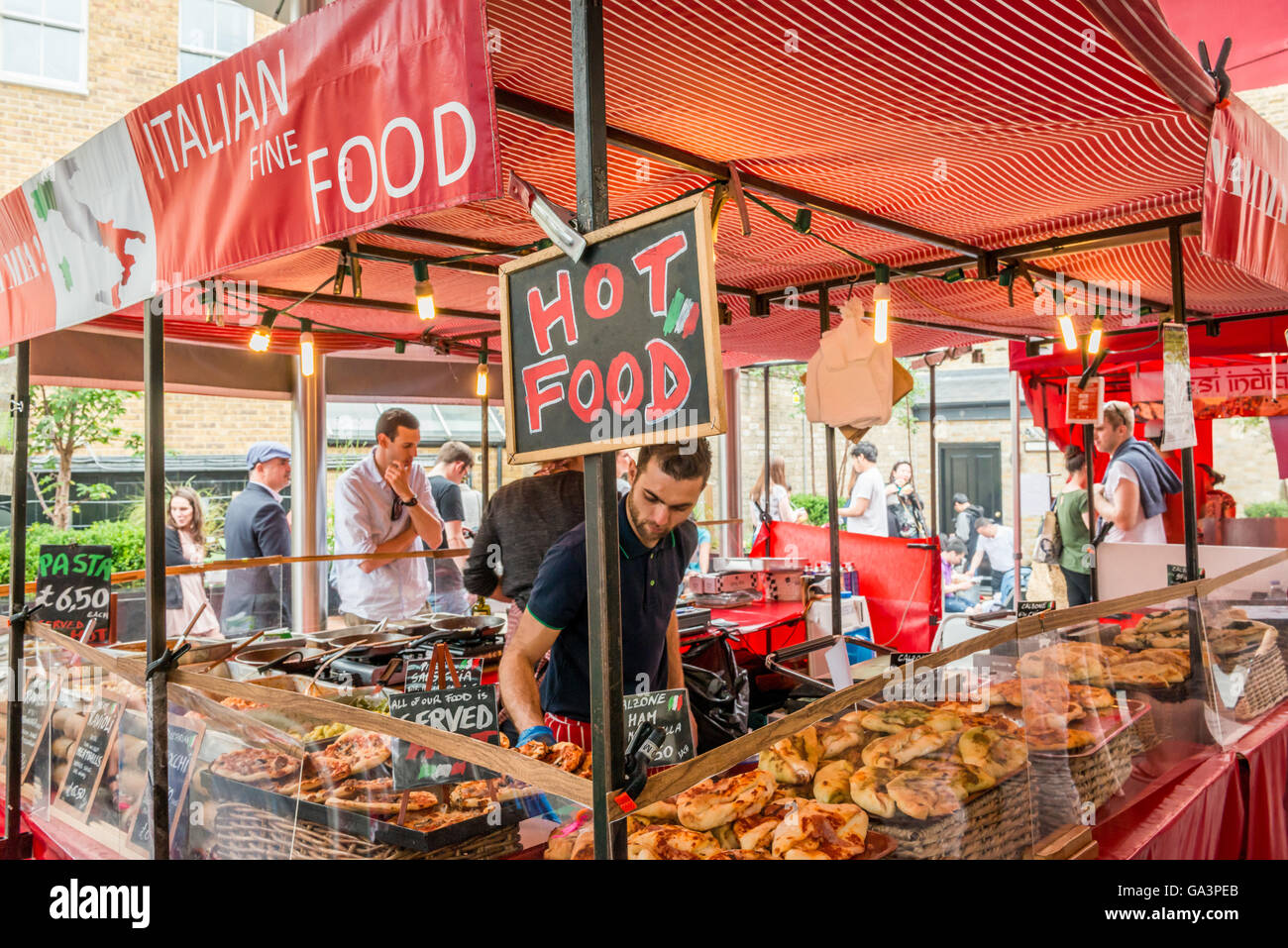 Street Food Market Westminster