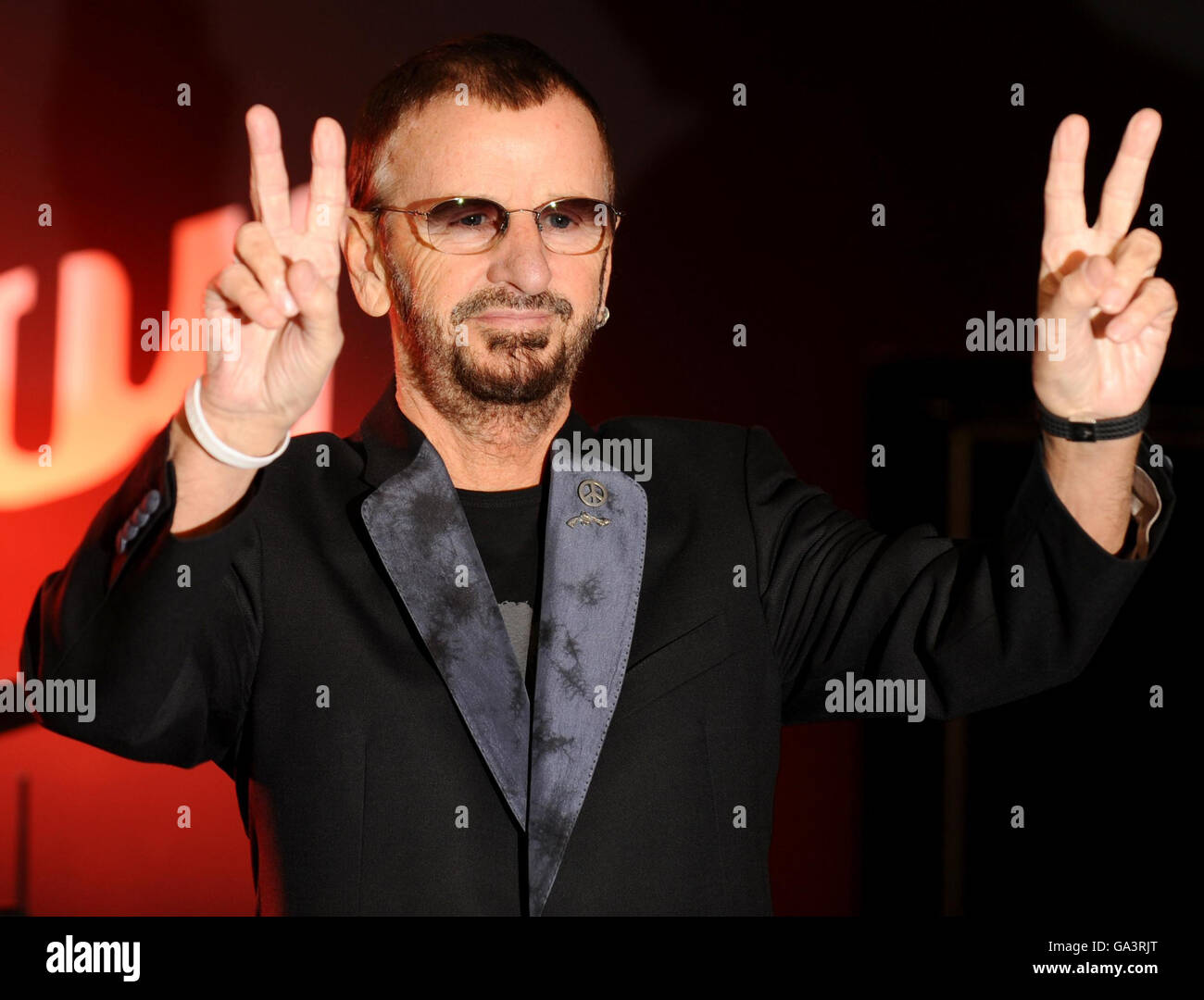 File photo dated 08/12/11 of Ringo Starr who has praised the UK's decision to leave the European Union, saying - Stock Image