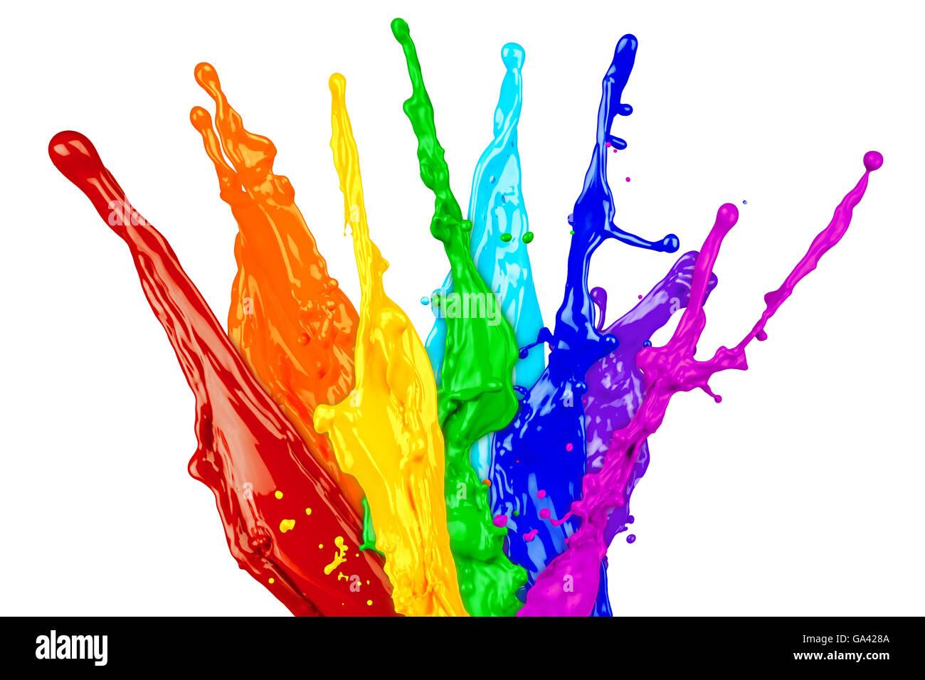 Color Splash Background Stock Photos Color Splash