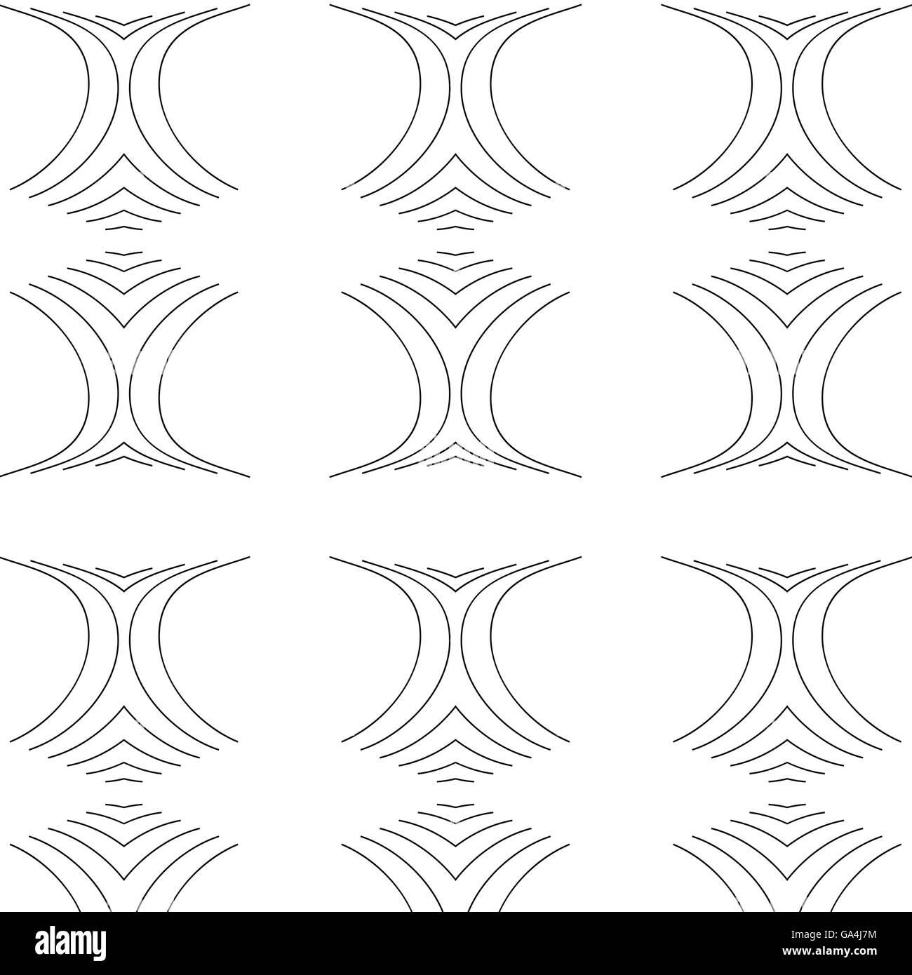Primitive simple grey modern pattern - Stock Image