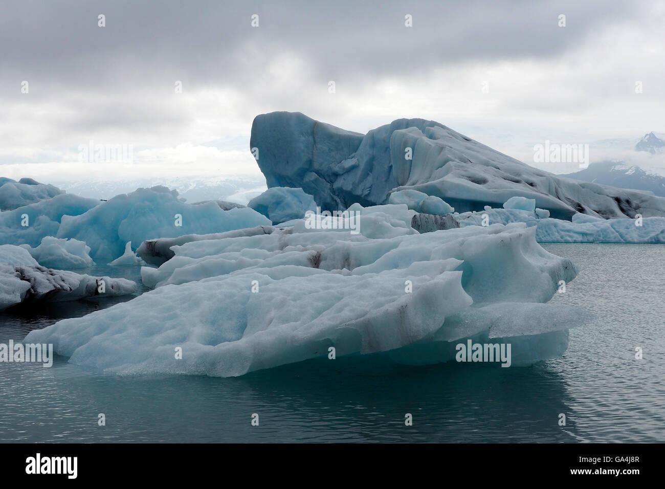 Glacial lagoon iceland 2 Stock Photo
