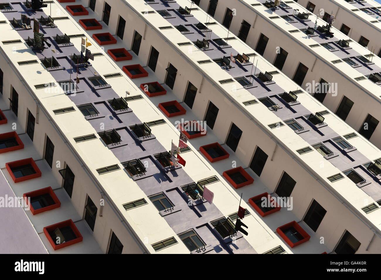 Singapore public housing Stock Photo
