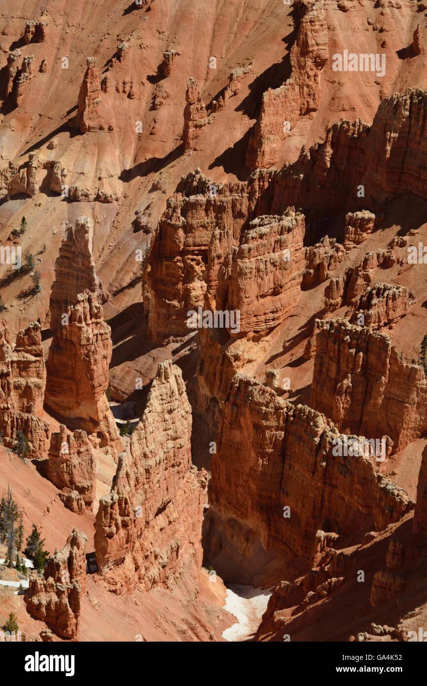The beautiful but often ignored landscape of Cedar Breaks National Monument in Utah. - Stock Image