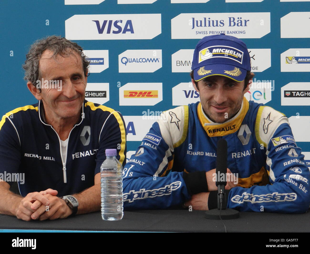 alain prost stock photo alamy