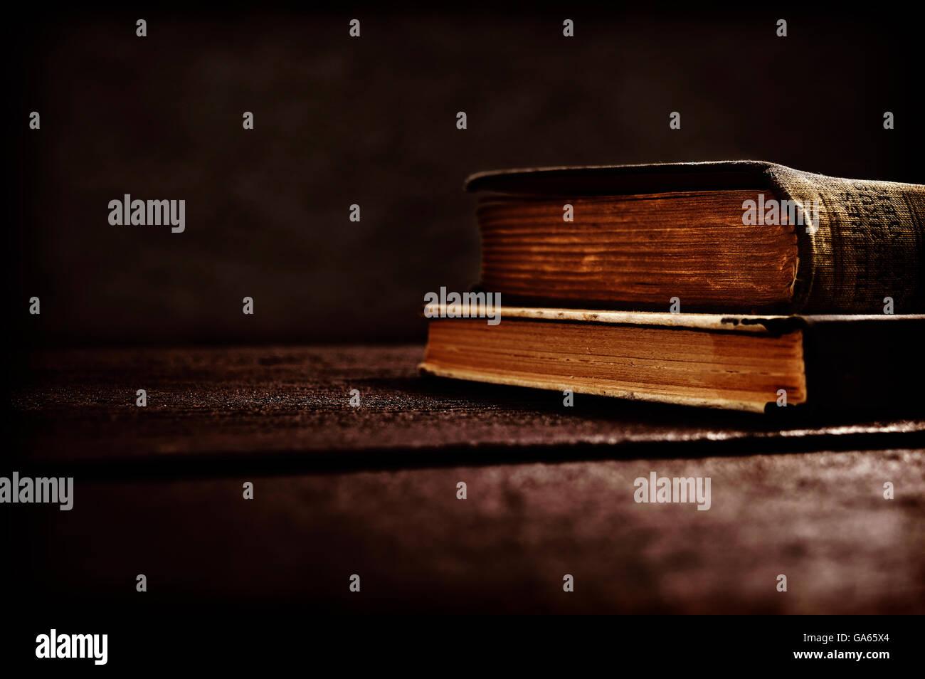spooky books - Stock Image