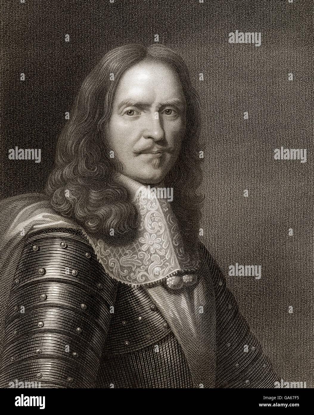 Henri de la Tour d'Auvergne, Vicomte de Turenne, 1611 - 1675, Marshal General of France, Henri de la Tour d'Auvergne, - Stock Image