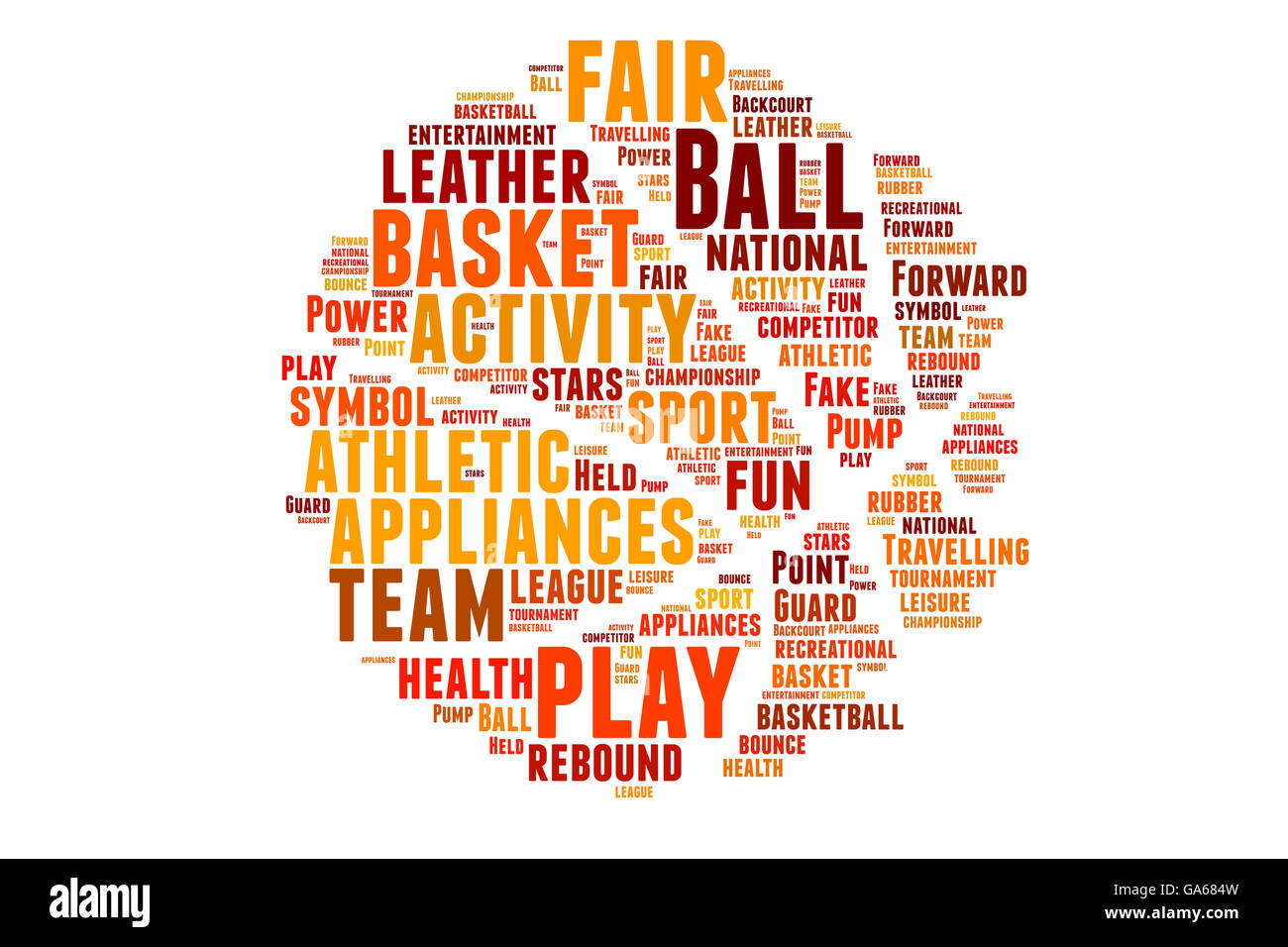 basketball word cloud words concept ball athletics black and white