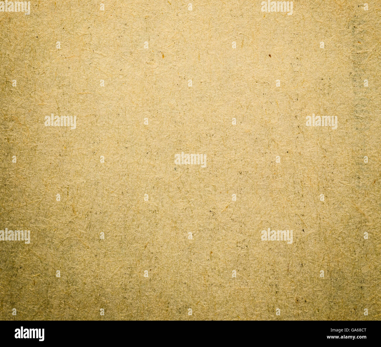 Old vintage paper background with mould - Stock Image