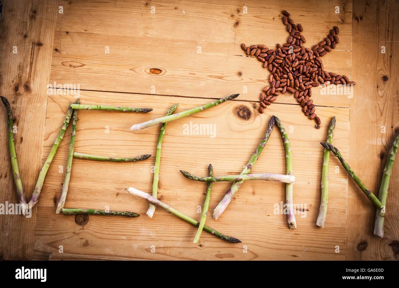 vegan style,life style - Stock Image