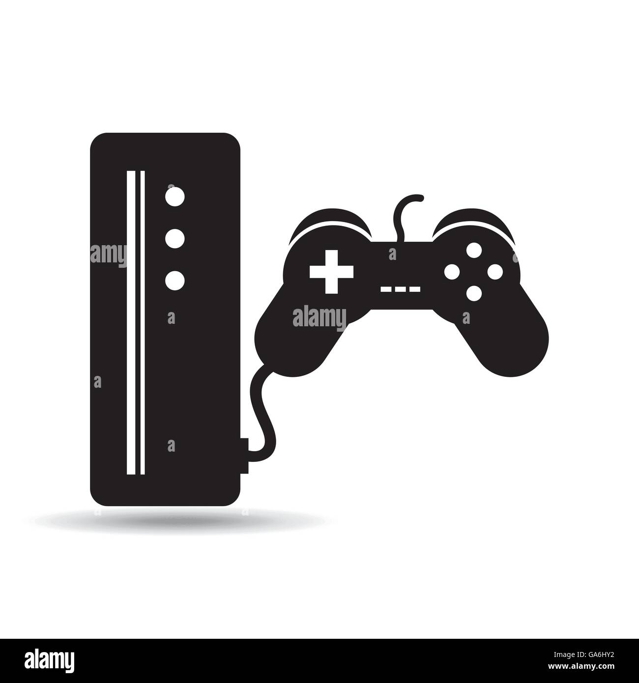 games online entertainment isolated icon design Stock Vector Art ...