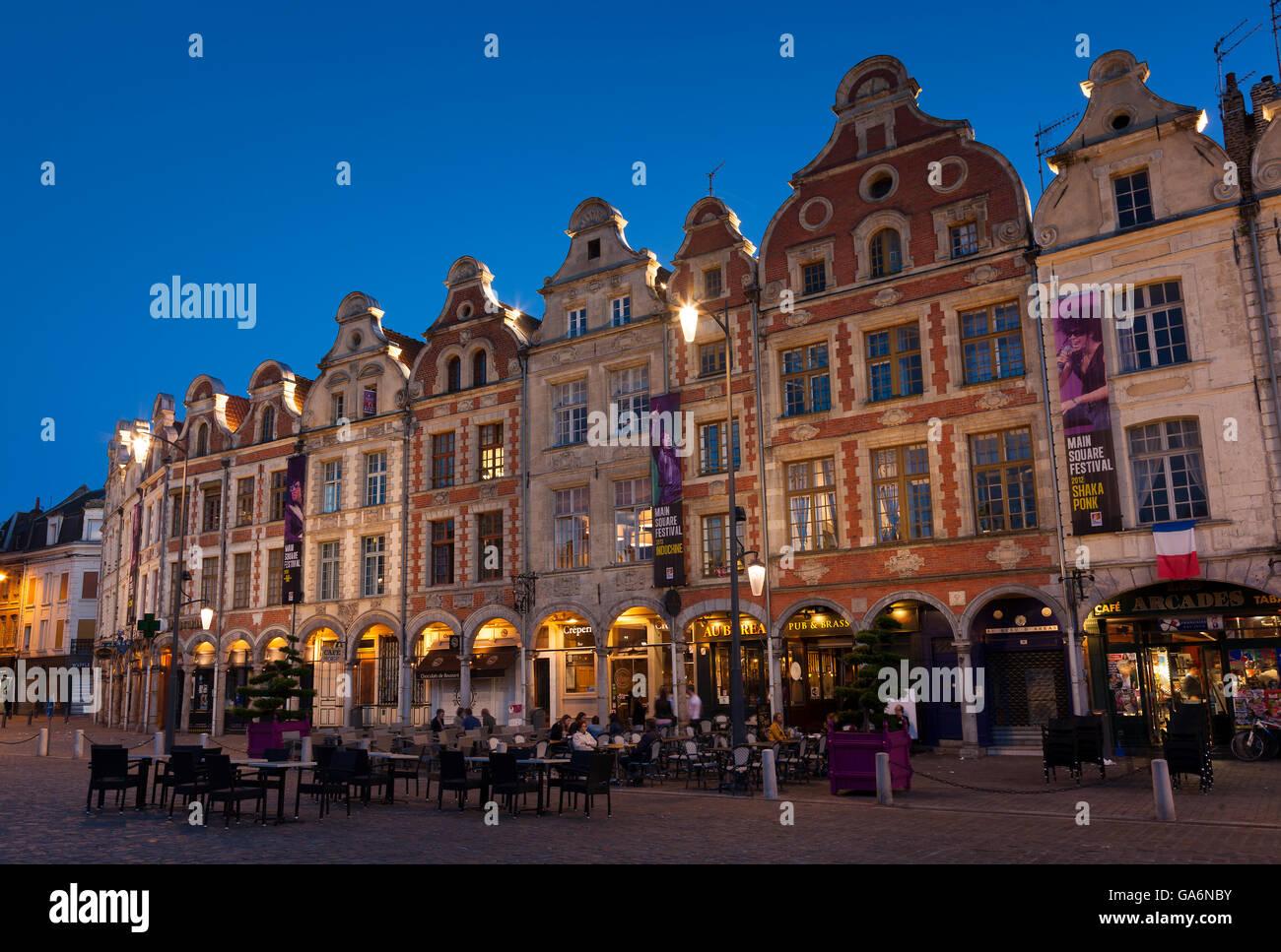 Place des Héros, Arras, Pas de Calais Department, Nord-Pas de Calais Picardie region, France - Stock Image