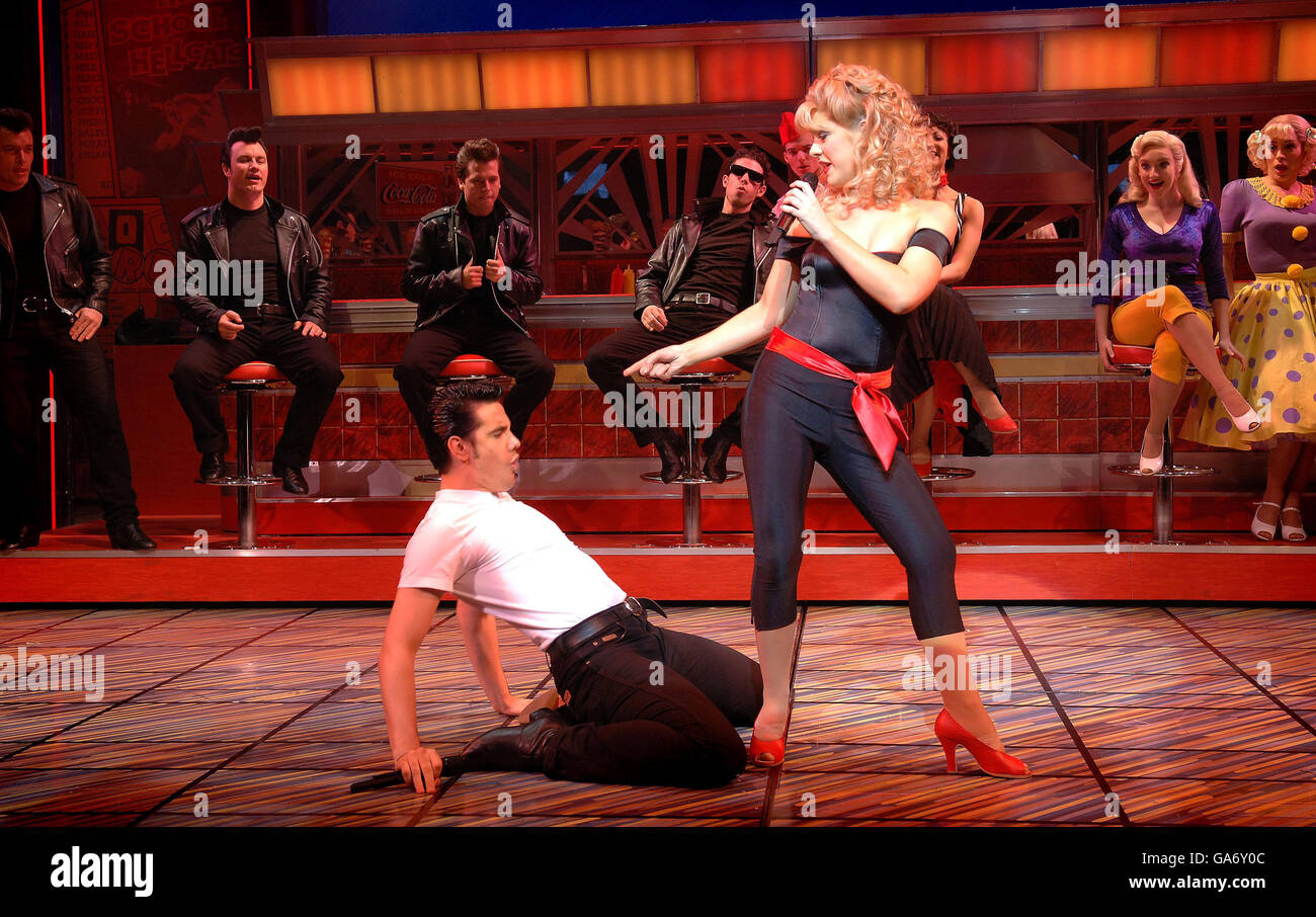 Grease Musical photocall - London Stock Photo: 109561660 - Alamy