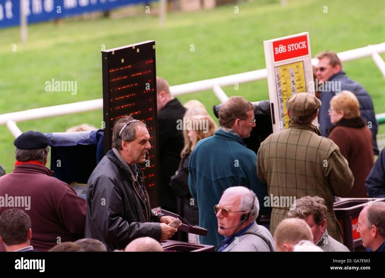 Horse Racing - Brighton Races Stock Photo