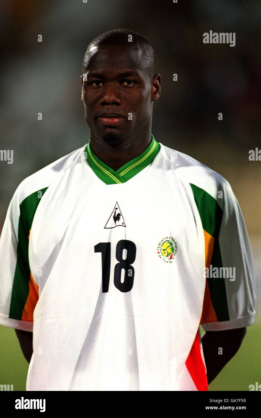 Soccer - African Nations Cup Mali 2002 - Group D - Senegal v Zambia Stock Photo