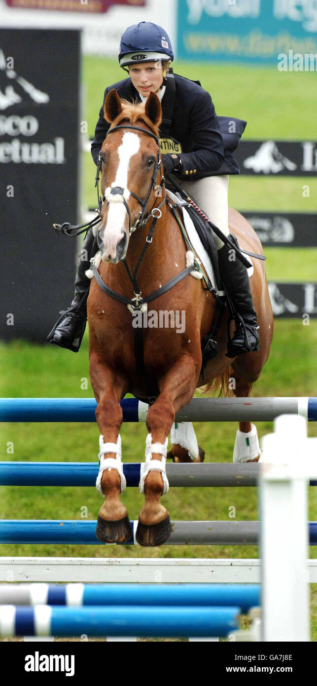 The Festival of British Eventing - Stock Image