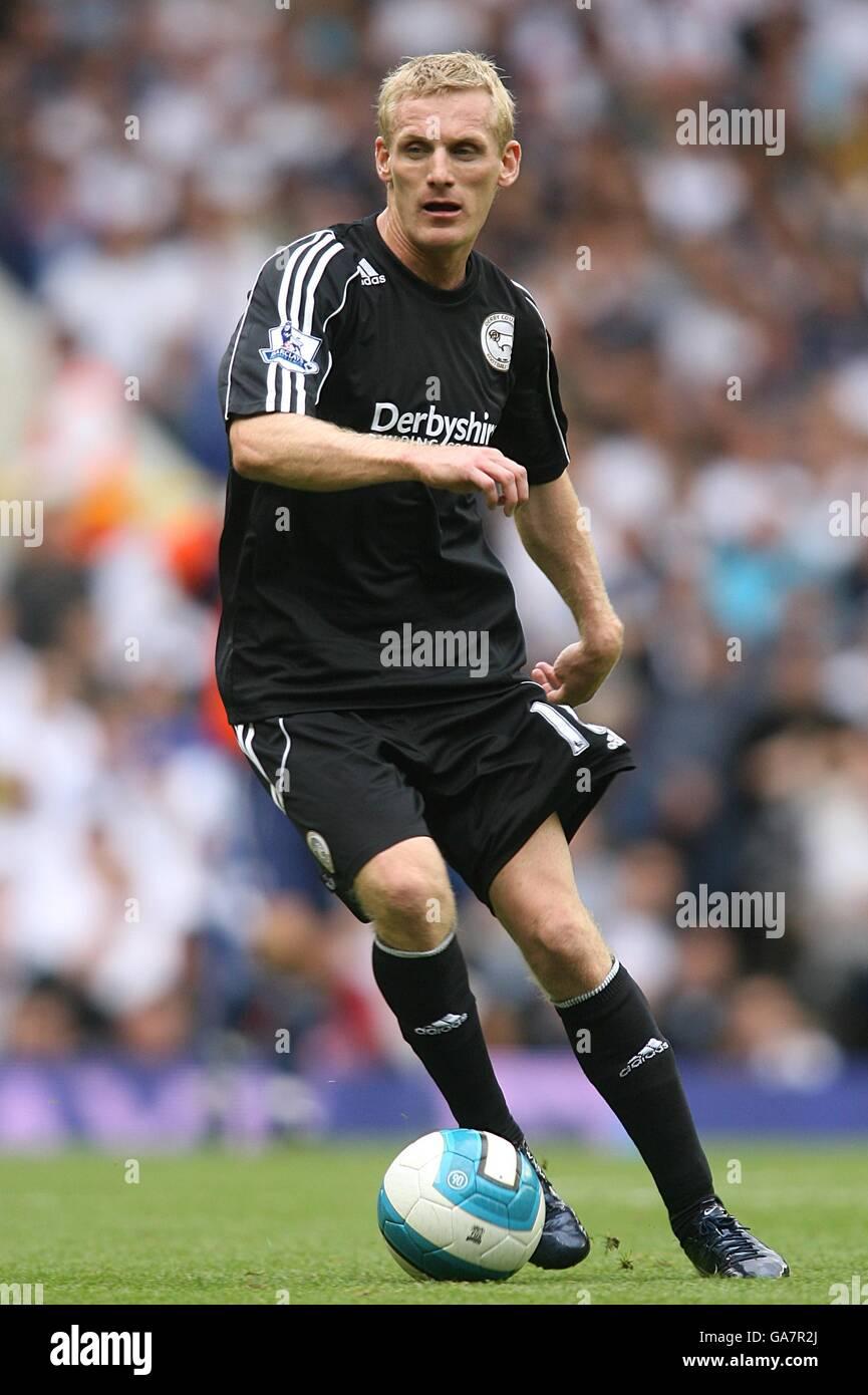 Soccer - Barclays Premier League - Tottenham Hotspur v Derby County - White Hart Lane - Stock Image