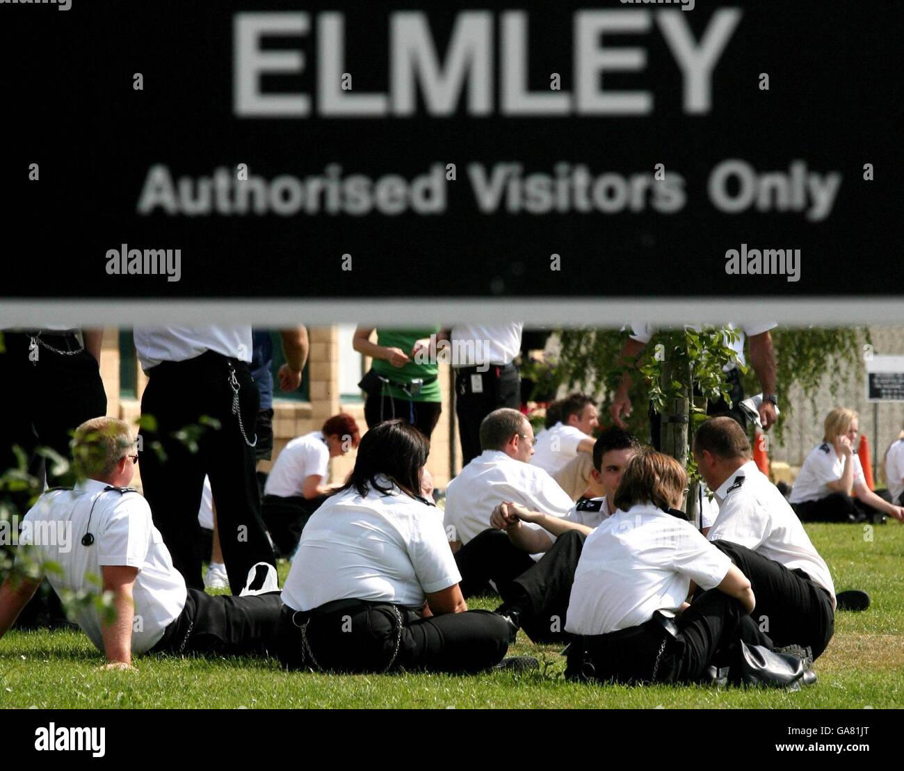 Elmley Prison Stock Photos Elmley Prison Stock Images Alamy