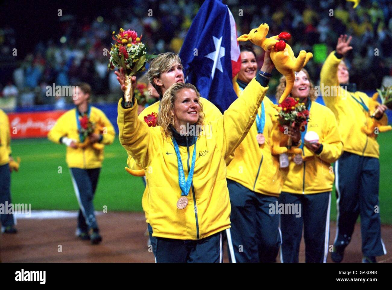 Sydney 2000 Olympic Medallion Softball