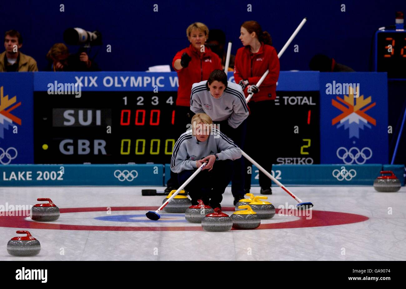 Curling at the 2002 Winter Olympics