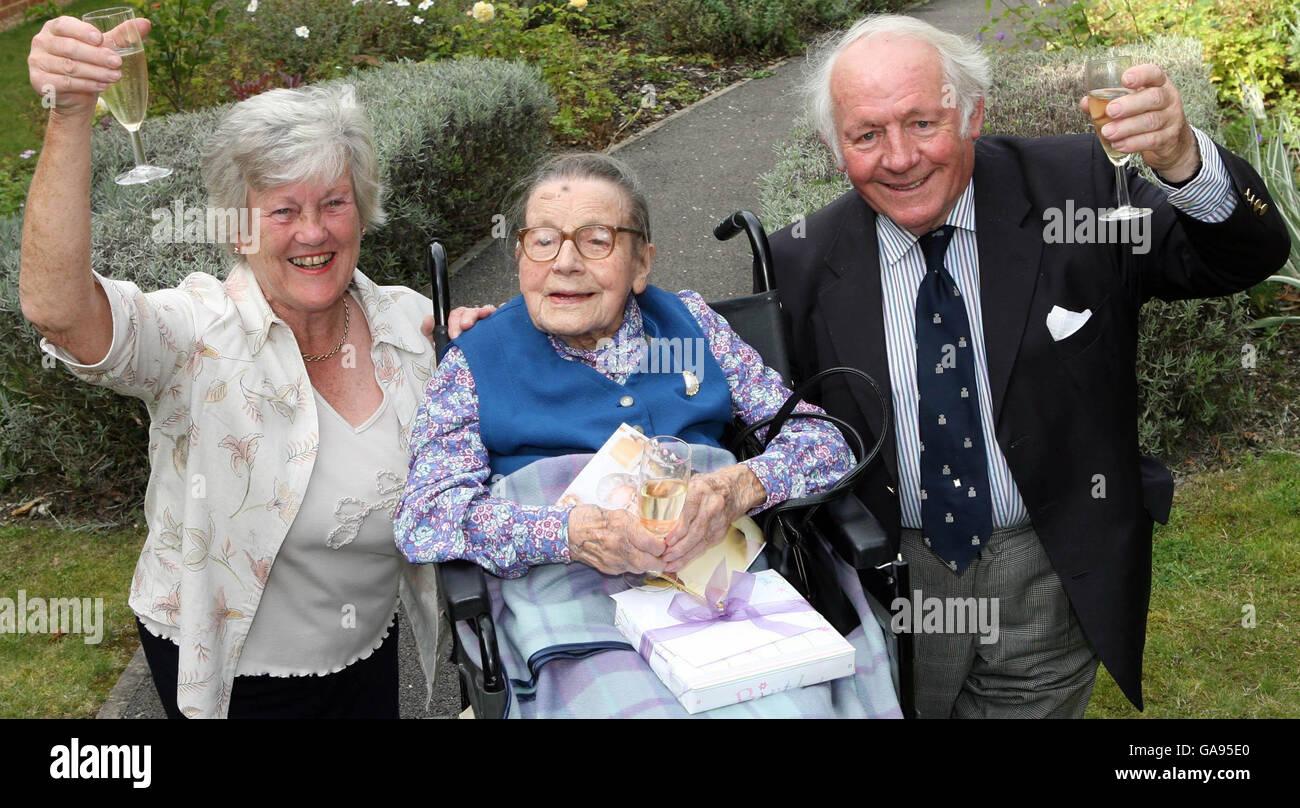 Salt key to celebrating 110th Birthday - Stock Image