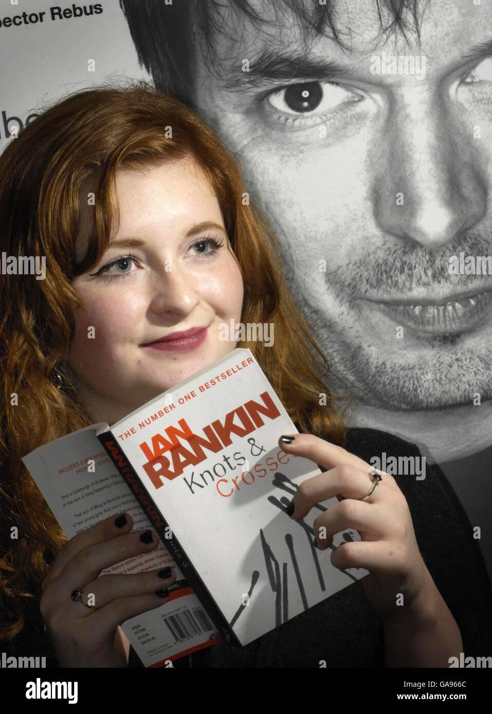 Ian Rankin's first Rebus novel revealed - Stock Image