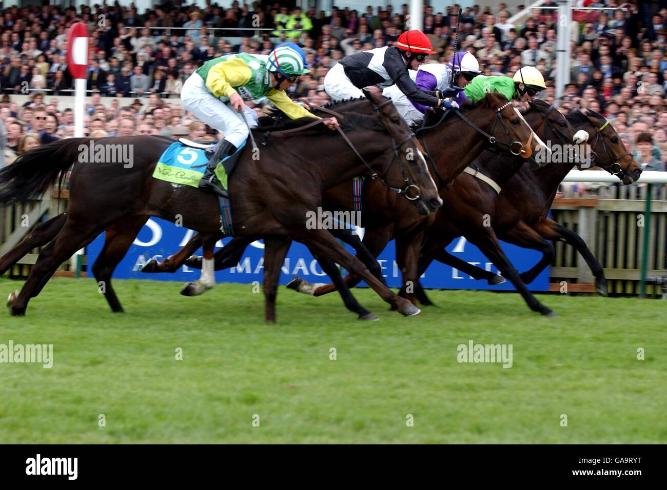 Horse Racing - Newmarket - 2000 Guineas - Stock Image