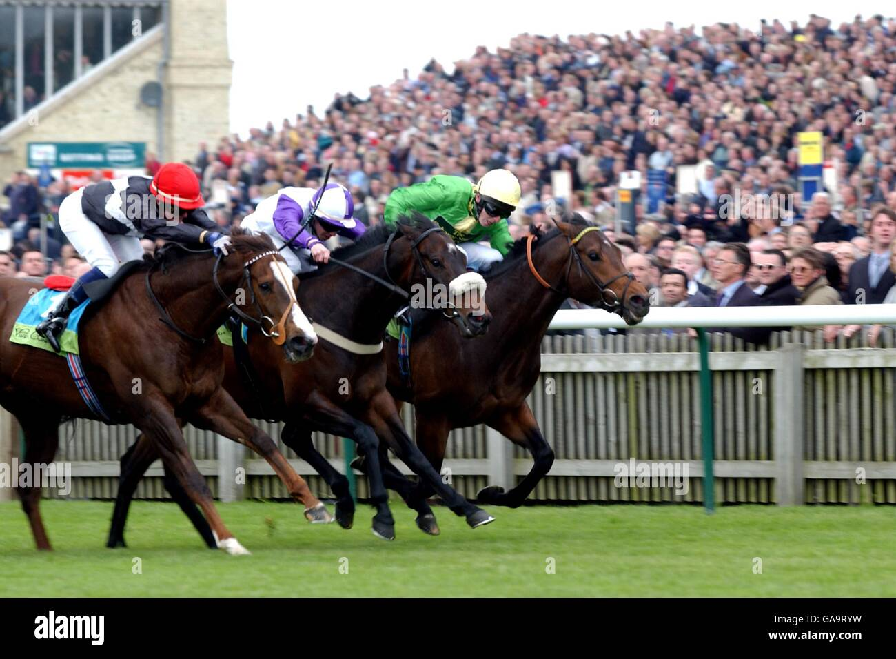 Horse Racing - Newmarket - 2000 Guineas Stock Photo