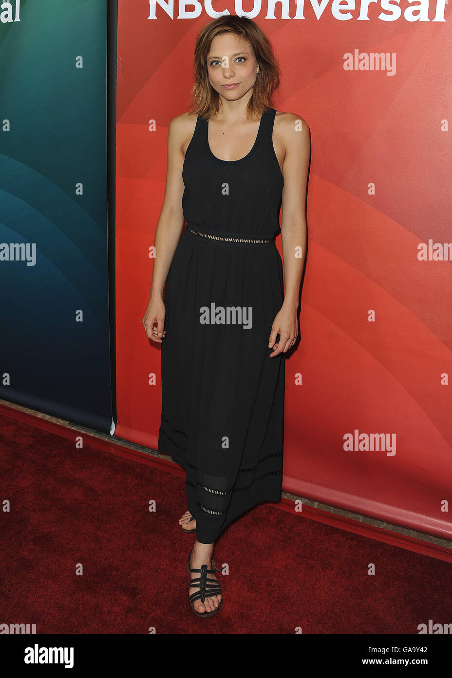 beverly hills ca august 3 lizzie brochere at the nbcuniversal