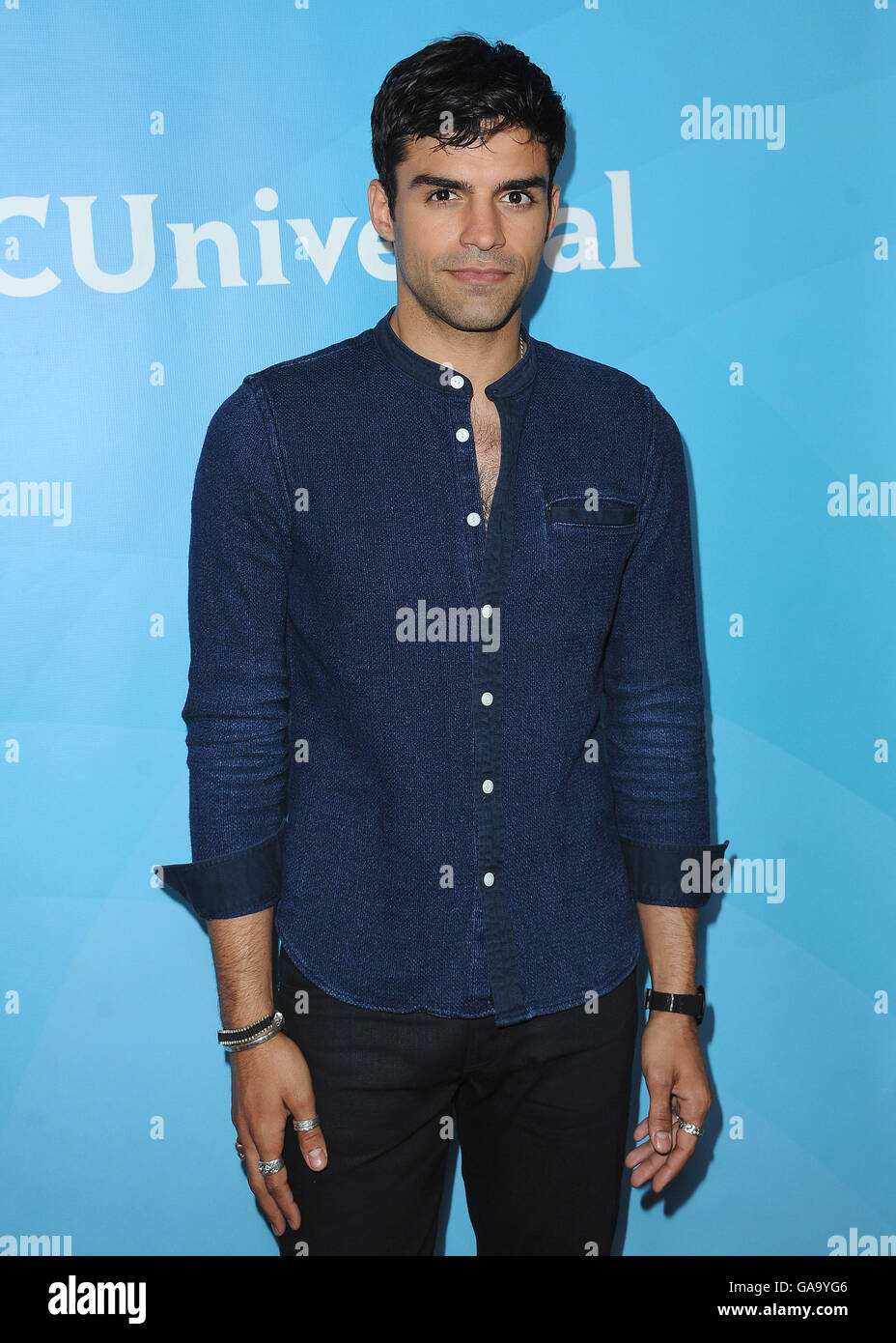 BEVERLY HILLS, CA - AUGUST 3:  Sean Teale at the NBCUniversal 2016 Summer Press Tour at the Beverly Hilton on August - Stock Image