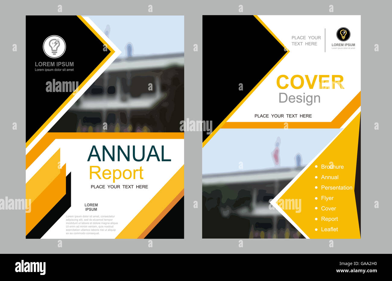 cover  design  annual  layout  flyer  book  ad  page  vector  poster stock photo  109630332