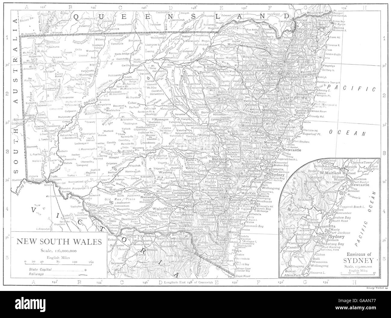 Nsw Map Australia.New South Wales Map Stock Photos New South Wales Map Stock Images