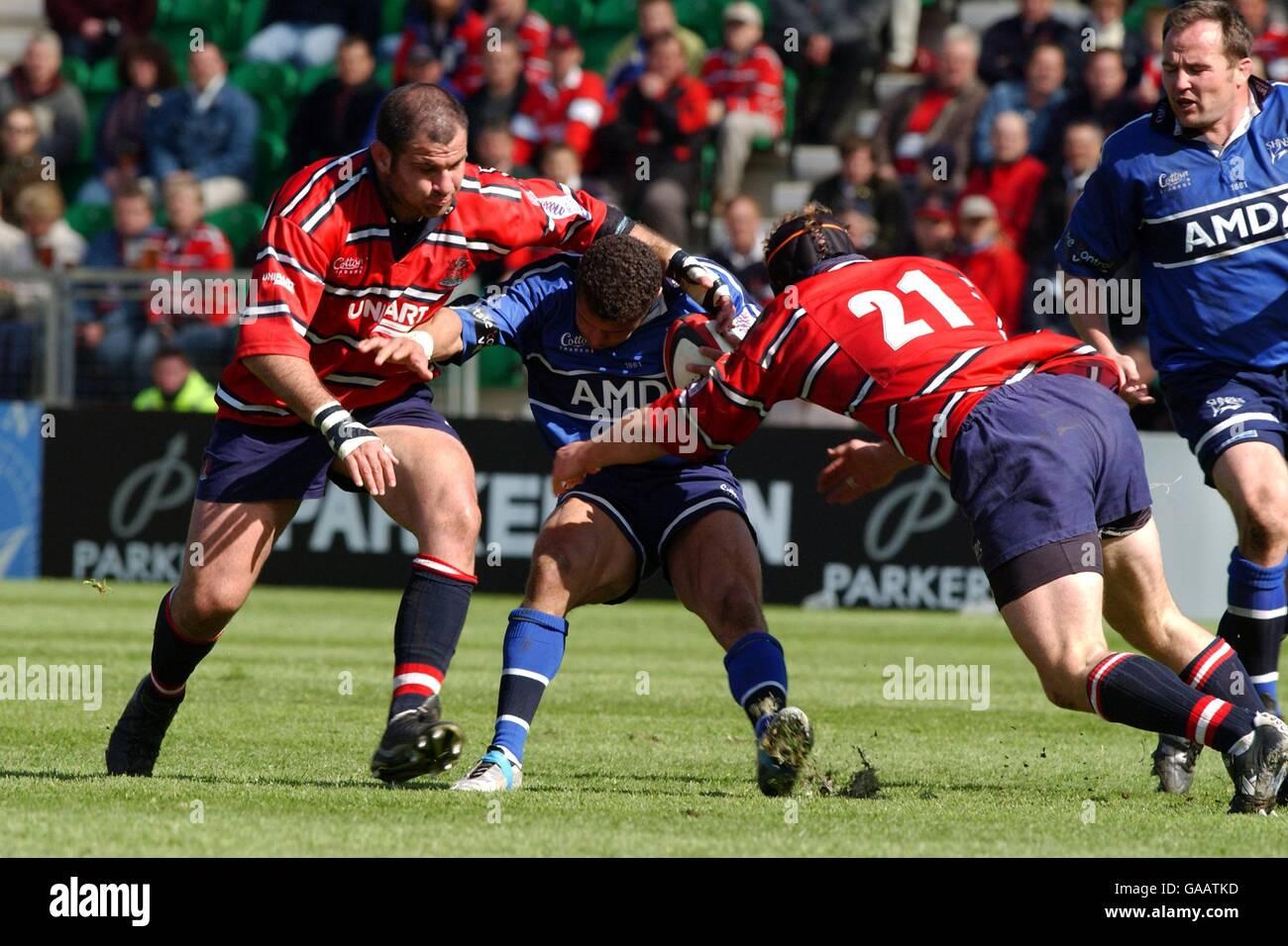 Rugby Union - Parker Pen European Shield - Semi Final - Gloucester v Sale Sharks - Stock Image