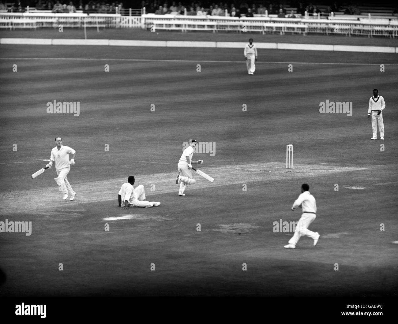 Cricket - Second Test Match - England v West Indies - Lords - Stock Image