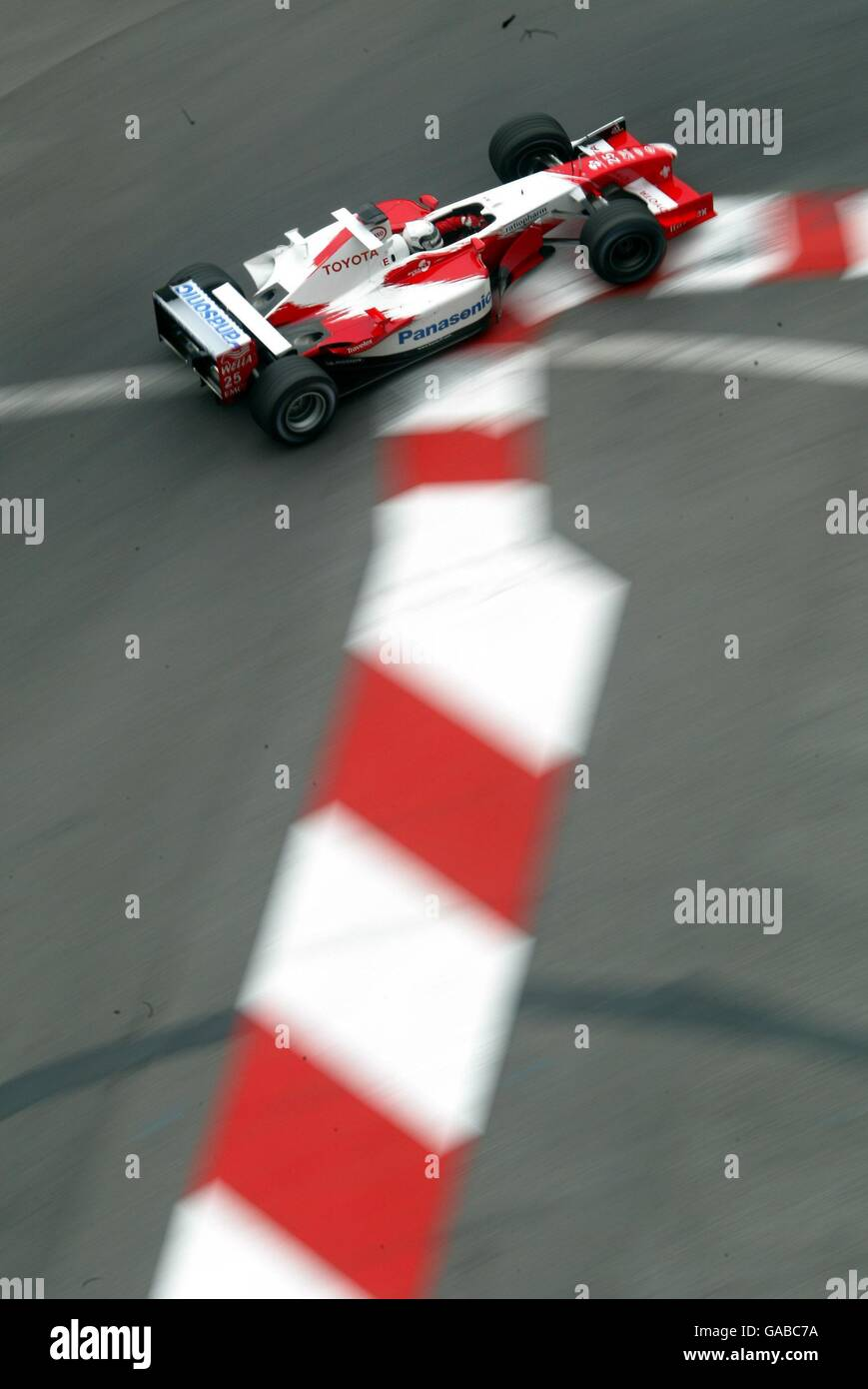 Formula One Motor Racing - Monaco Grand Prix - Practice Stock Photo