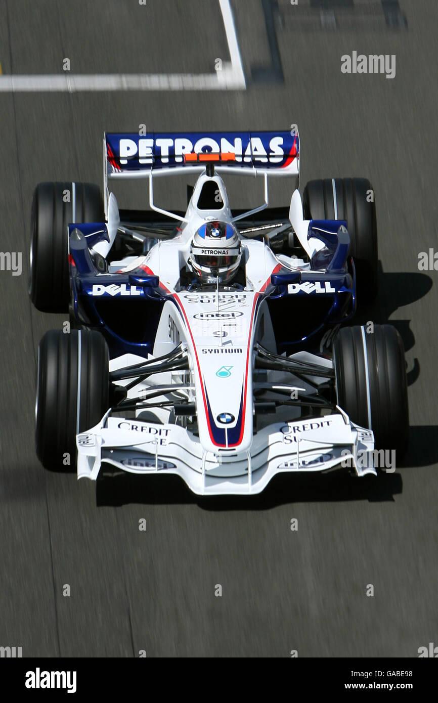 Formula One Motor Racing - British Grand Prix - Qualifying - Silverstone Stock Photo
