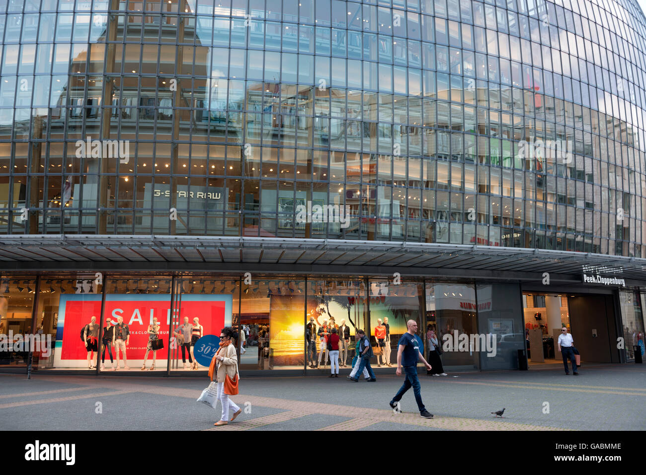 Peek & Cloppenburg department store, Cologne, North Rhine-Westphalia, Germany. Stock Photo