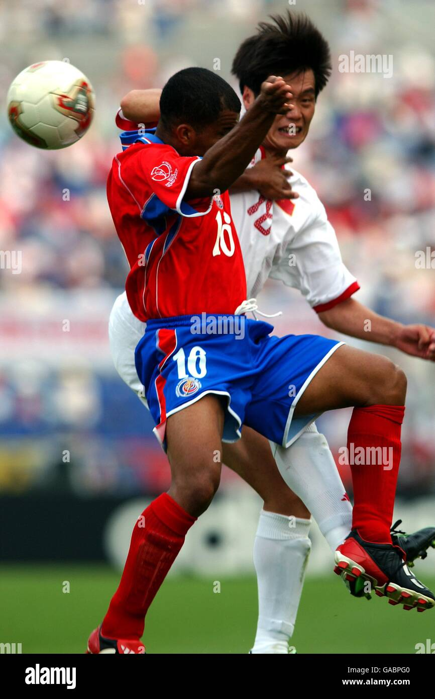 f7661527caf Soccer - FIFA World Cup 2002 - Group C - China v Costa Rica - Stock