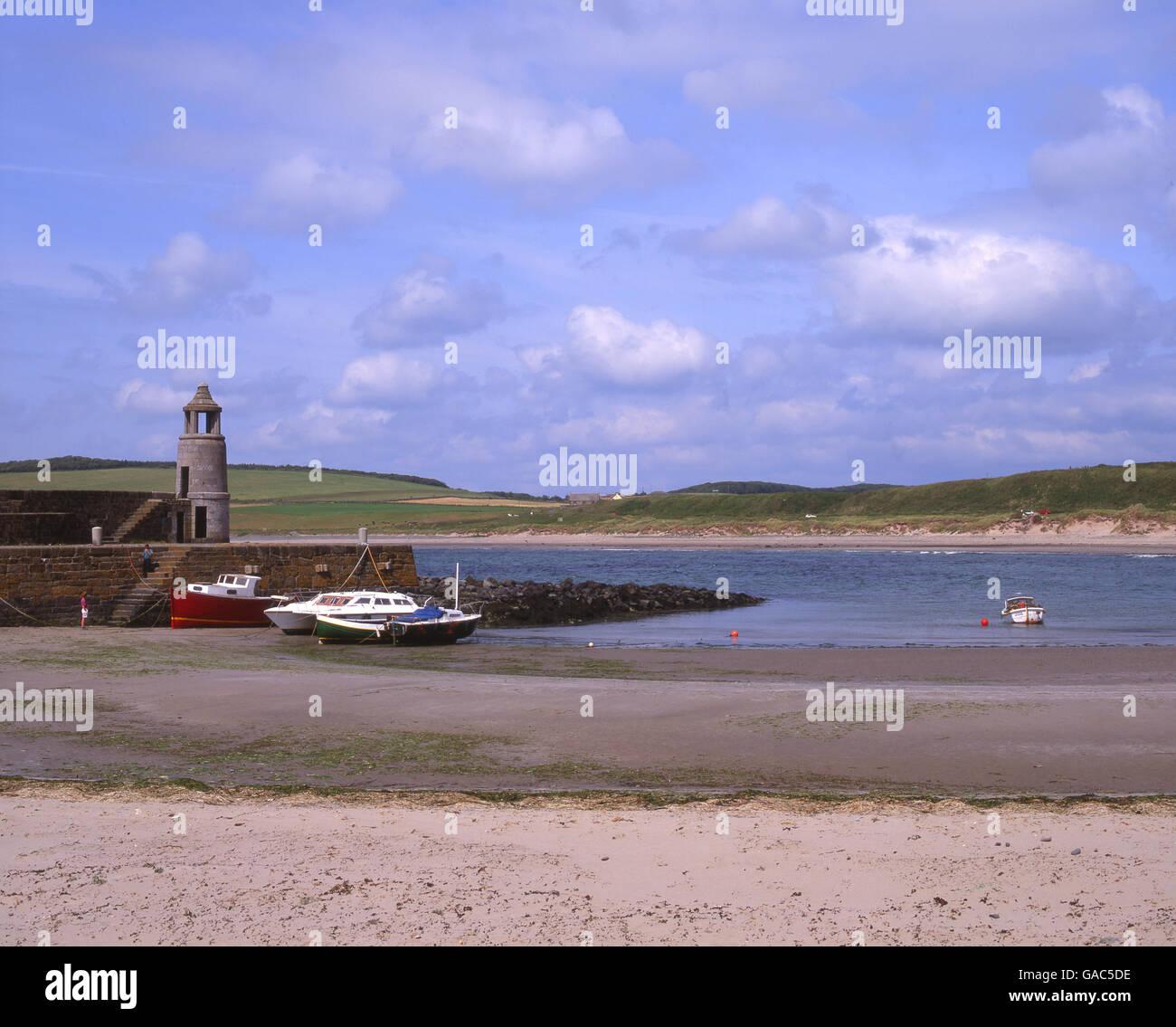Port Logan, Rhins of Galloway, S/W Scotland. - Stock Image