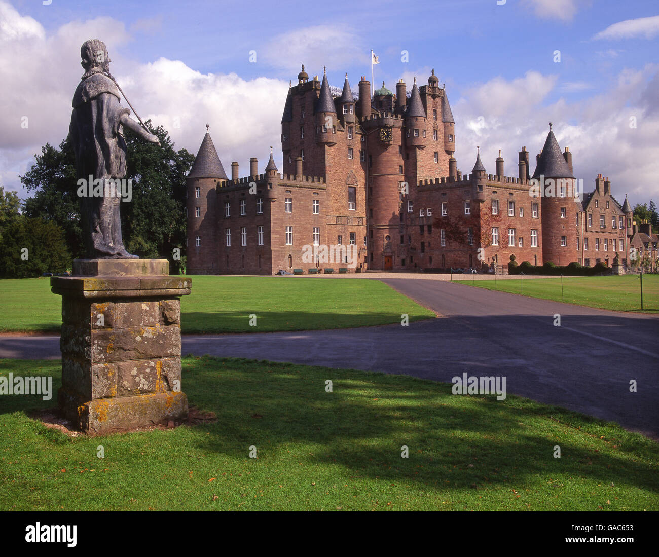 Glamis Castle, Angus, N/E Scotland - Stock Image
