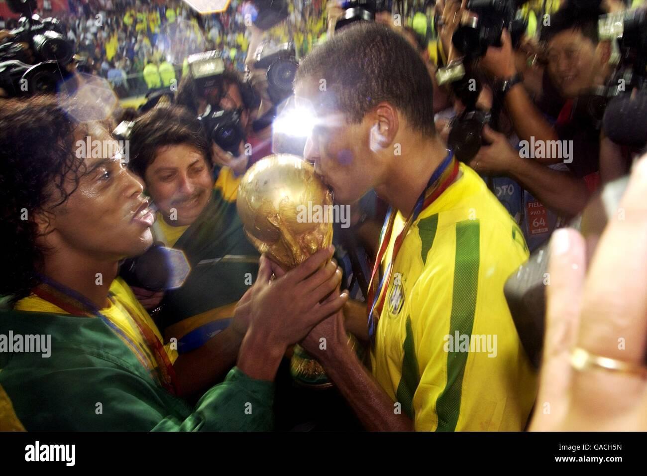 Brazil soccer world cup 2002