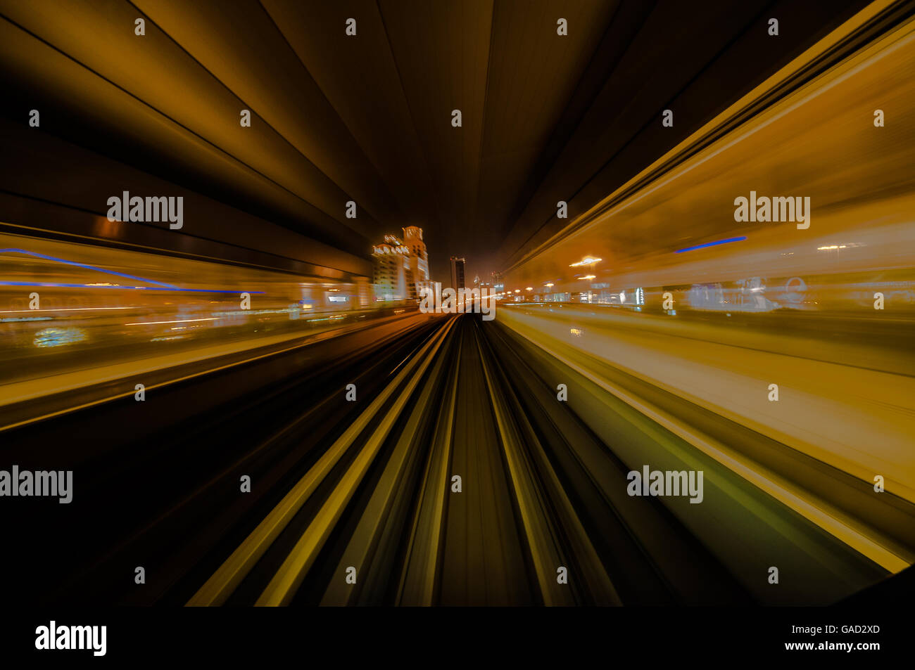 Time warp, time travel, high speed - Stock Image