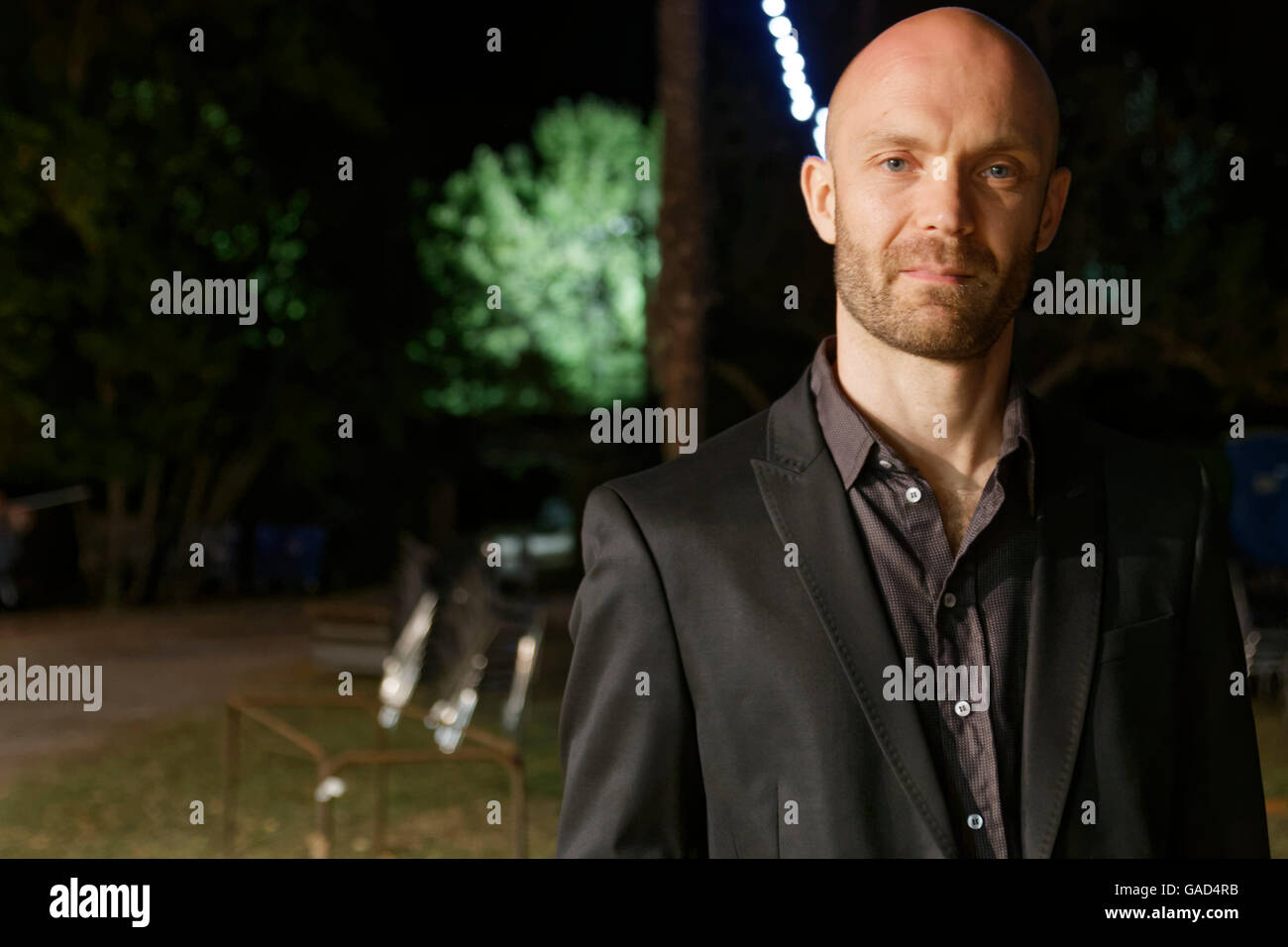 Agde, France July, 2, 2016.Michel Gagliolo of The Messengers Sextet of Piero Iannetti .Credit : Veronique Phitoussi/Alamy - Stock Image